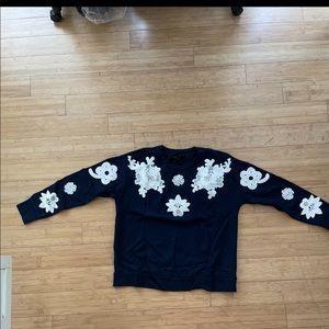 Victoria Beckham x Target Size Small Blue Sweater